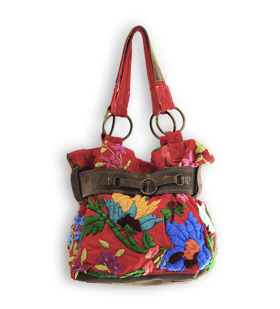 cartera-bordada-con-faja-flor-india-roja