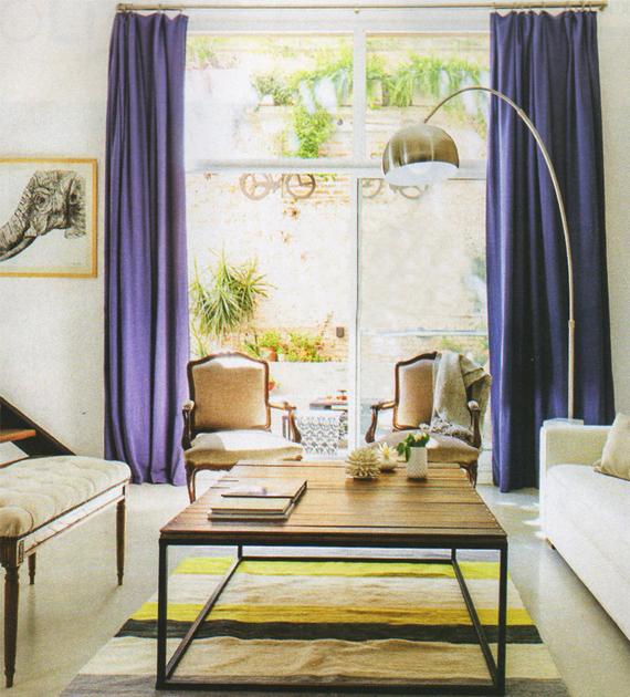 alfombra-a-rayas-gris-y-amarillo